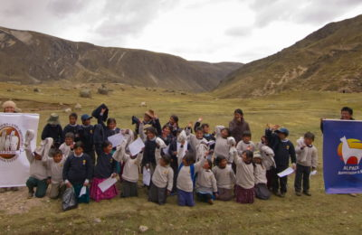 AOBA donation project to Corani in support of Peru alpaca breeders